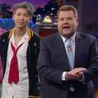 BTS joins James Corden on The Late Late Show