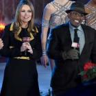 Lester Holt, Savannah Guthrie, Hoda Kotb and Al Roker at the 2017 Christmas at Rockefeller Center Special