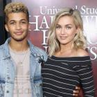Lindsay Arnold and actor Jordan Fisher