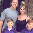 Kim Zolciak and Kroy Biermann with Kash and KJ