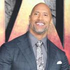 Dwayne Johnson at Jumanji premiere in London