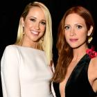 Anna Camp and Britany Snow