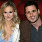Lauren Bushnell and Ben Higgins at Lion King