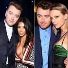 Sam Smith and Kim Kardashian and Taylor Swift