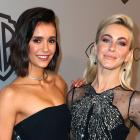 Nina Dobrev and Julianne Hough at InStyle party