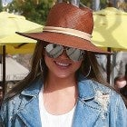 Chrissy Teigen on lunch date in Beverly Hills with husband John Legend