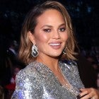 Chrissy Teigen at 2018 GRAMMYs