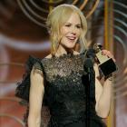 Nicole Kidman winning Golden Globe