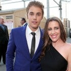 Justin Bieber and Mom Pattie Mallette
