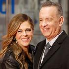 Rita Wilson and Tom Hanks at 'the post' premiere in London