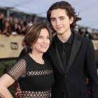 Timothee Chalamet and his mom