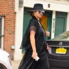 Chrissy Teigen out and about in New York City.