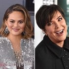 Chrissy Teigen and Kris Jenner