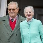Prince Henrik and Queen Margrethe II