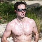 Rob Pattinson in antigua