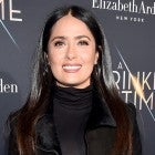 Salma Hayek at A Wrinkle in Time premiere