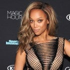 Tyra Banks at SI Swimsuit event