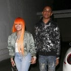 Blac Chyna holds hands with rapper YBN Almighty Jay