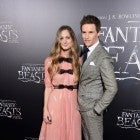 Eddie Redmayne and wife, Hannah Bagshawe, at 'Fantastic Beasts' premiere in New York City, 2016
