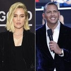 Khloe Kardashian and Alex Rodriguez