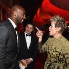 Kobe Bryant and Frances McDormand