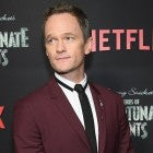 Neil Patrick Harris at a series of unforunate events season 2 premiere