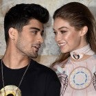 Zayn Malik and Gigi Hadid at Paris Fashion Week