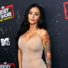 Jenni 'JWoww' Farley attends the 'Jersey Shore Family Vacation' Premiere Party