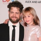 Jack Osbourne and daughter pearl at MS Gala