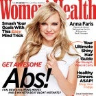 Anna Faris on cover of Women's Health