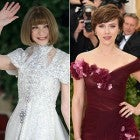 Anna Wintour and Scarlett Johansson