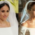 Meghan Markle from the royal wedding and Jennifer Lopez from 'The Wedding Planner.'
