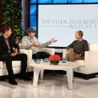 Ashton Kutcher, Guy Oseary, and Ellen DeGeneres