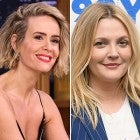 Sarah Paulson and Drew Barrymore