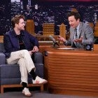 Robert Pattinson and Jimmy Fallon on The Tonight Show on June 20