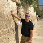 Andy Cohen at Western Wall