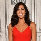 Becca Kufrin The Bachelorette red jumpsuit
