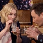 Cate Blanchett and Jimmy Fallon