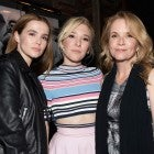 Lea Thompson and daughters