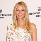 Gwyneth Paltrow floral one-shoulder dress