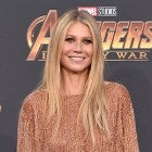 Gwyneth Paltrow Avengers premiere gold mini dress