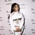 Lil' Kim attends the boohoo.com x Paris Hilton Collection Launch Party at Delilah on June 20, 2018 in West Hollywood, California.