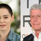 Rose McGowan and Anthony Bourdain