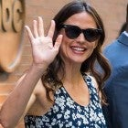 Jennifer Garner waves to fans outside 'Good Morning America' studios in New York on July 16