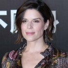 Neve Campbell at the Hong Kong premiere of 'Skyscraper' on July 2
