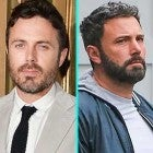 Casey Affleck and brother Ben Affleck (inset)