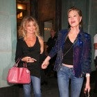Melanie Griffith and Goldie Hawn at Sting's concert in L.A.