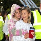 Justin Bieber and Hailey Baldwin in London in September 2018