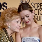 Billie Lourd and Debbie Reynolds