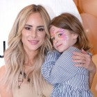 Amanda Stanton and daughter at little james pop-up